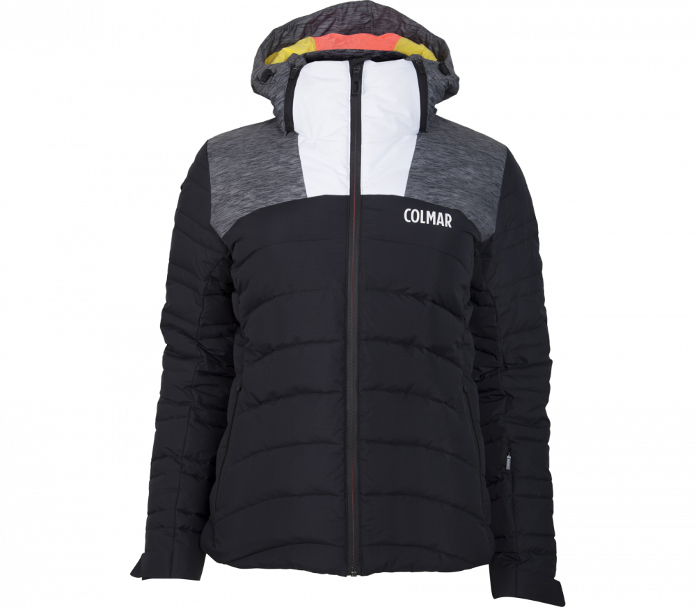 colmar niseiko damen skijacke schwarz grau im online shop von keller sports kaufen. Black Bedroom Furniture Sets. Home Design Ideas