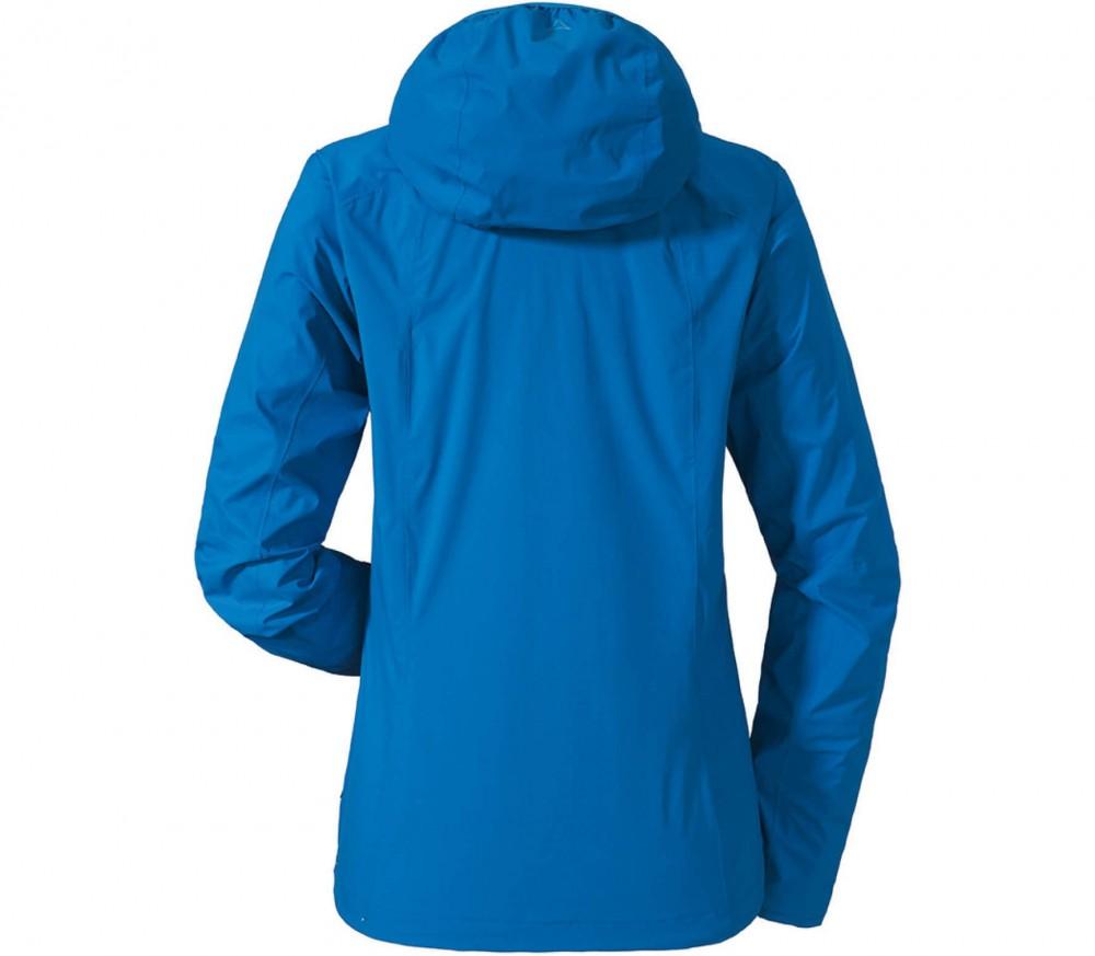sch ffel neufundland 2 5 lagen damen regenjacke blau im online shop von keller sports kaufen. Black Bedroom Furniture Sets. Home Design Ideas