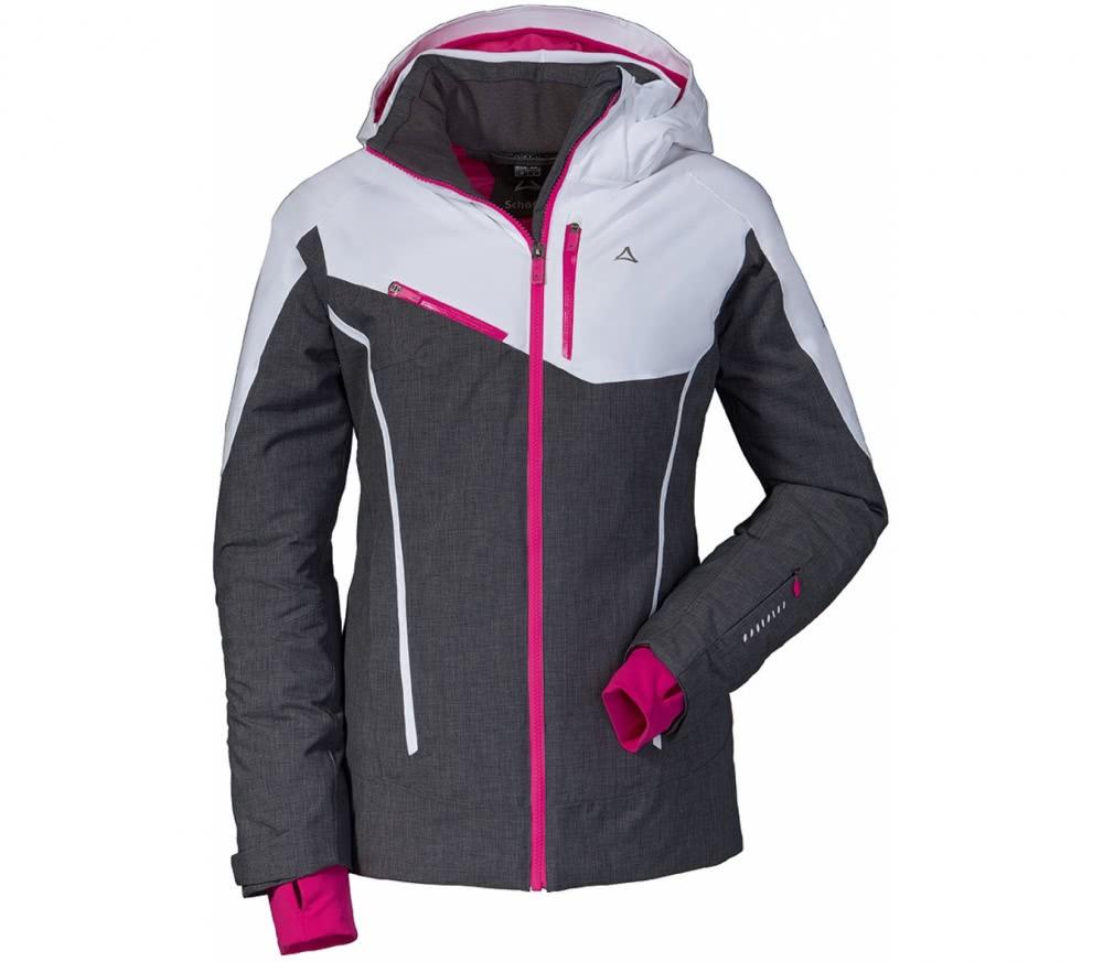 sch ffel marseille1 damen skijacke grau wei im online shop von keller sports kaufen. Black Bedroom Furniture Sets. Home Design Ideas