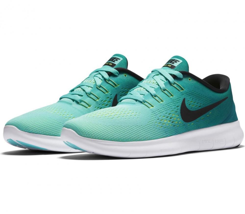 Nike - Free RN Damen Laufschuh (türkis/schwarz)