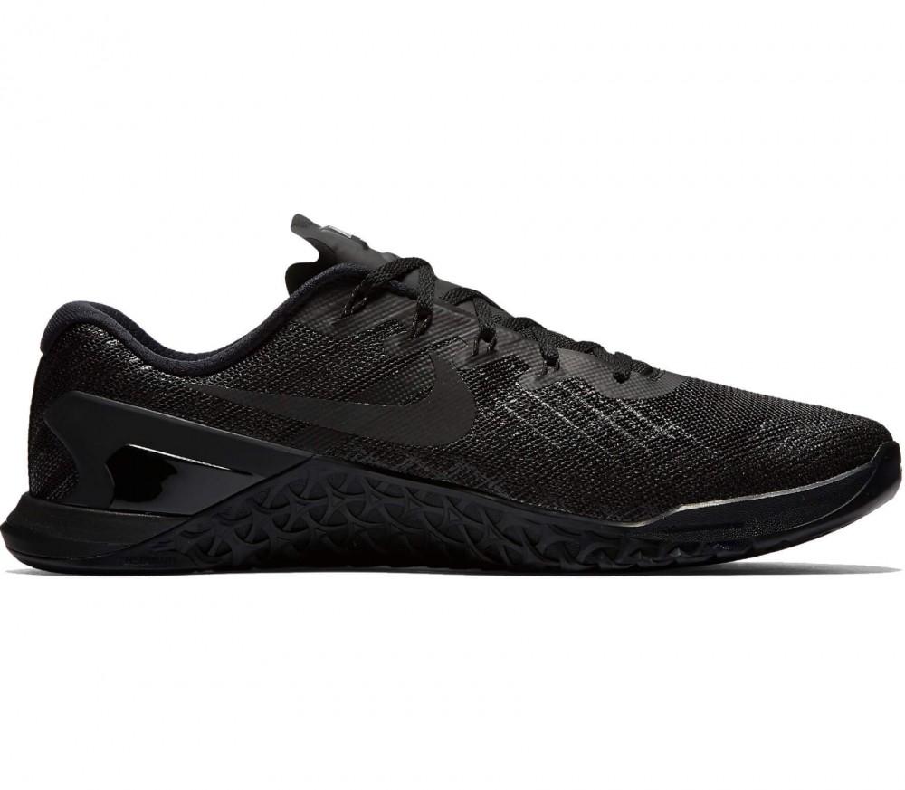 Nike »Metcon 3« Trainingsschuh, schwarz, schwarz