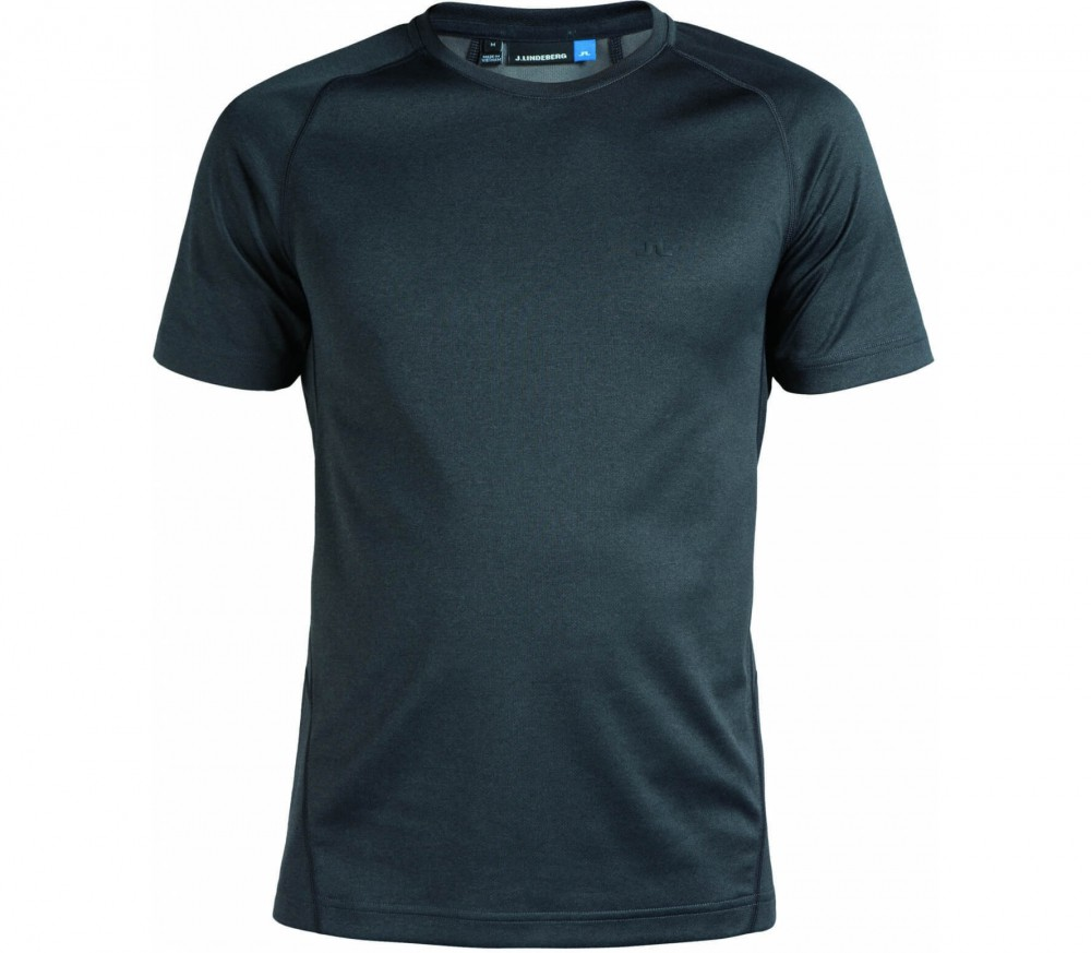 J.Lindeberg - Active Elements Jersey Shortsleeve Herren Trainingsshirt (schwarz)