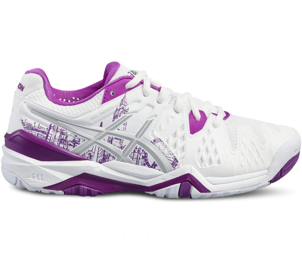 Asics - Gel-Resolution 6 Limited Edition London Damen Tennisschuh (weiß/lila)