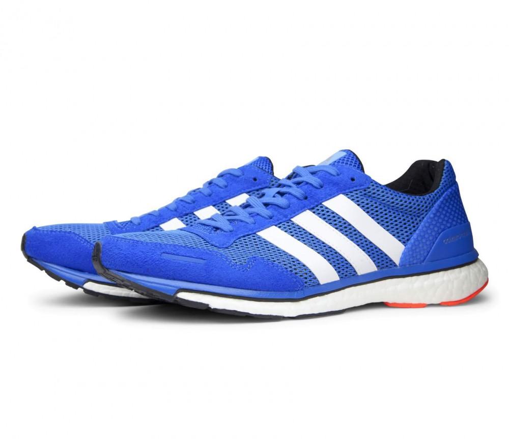 adidas Adizero Adios Boost 3 Damen Laufschuhe blue Größe 44 2/3 30nnqy