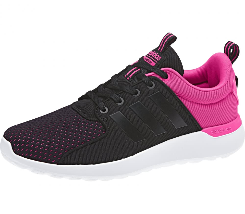 adidas cf lite racer damen laufschuh pink schwarz im online shop von keller sports kaufen. Black Bedroom Furniture Sets. Home Design Ideas