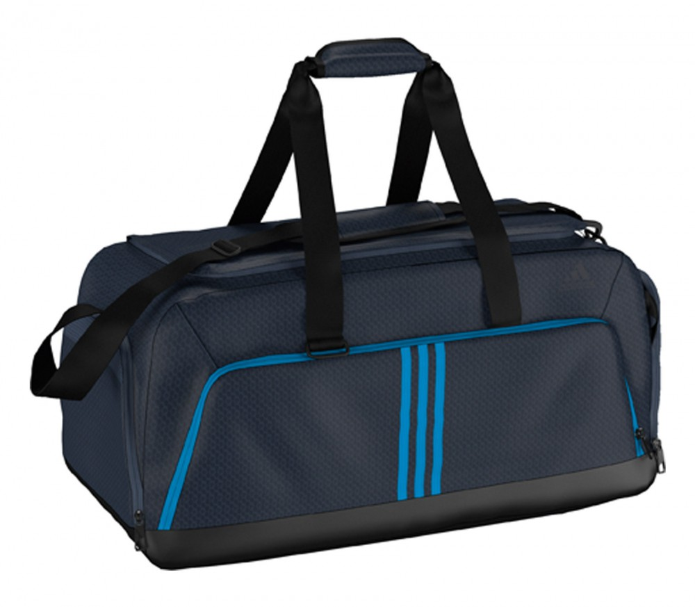 adidas 3s essentials team medium trainingstasche blau. Black Bedroom Furniture Sets. Home Design Ideas