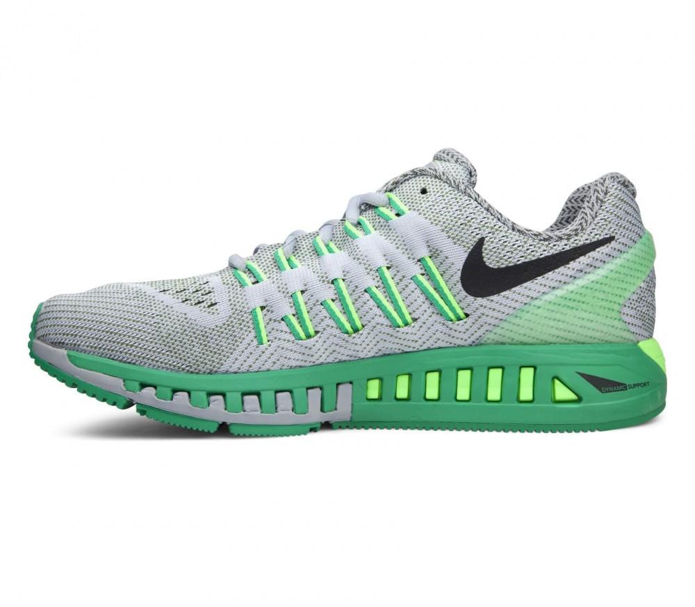 Nike - Air Zoom Odyssey Herren Laufschuh (grau/grün)