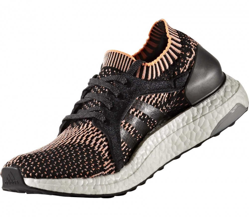 Adidas - Ultra Boost X Damen Laufschuh (schwarz/orange)