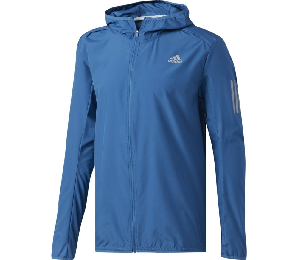 adidas response herren windbreaker blau im online shop von keller sports kaufen. Black Bedroom Furniture Sets. Home Design Ideas