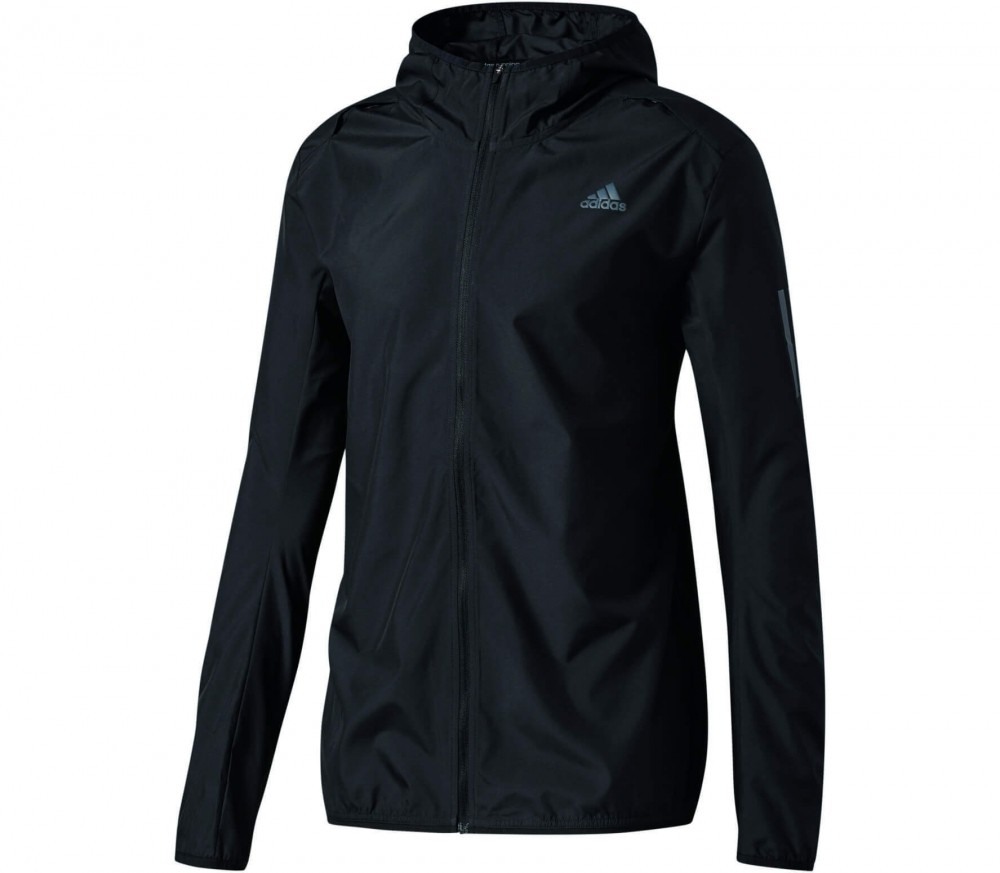 adidas response herren windbreaker schwarz im online shop von keller sports kaufen. Black Bedroom Furniture Sets. Home Design Ideas