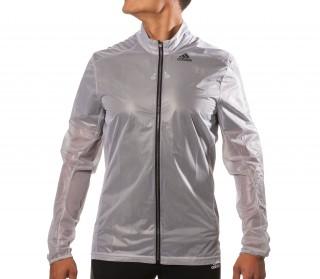 Adidas - Adizero Ghost men's running jacket (white/black)