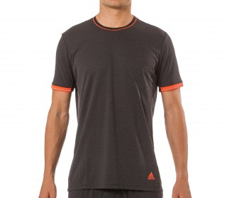 Adidas - Supernova Climachill men's running shirt (black/green)