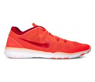 Nike Free Tr Fit 3 Damen Trainingsschuhe Orange Blau Weiß
