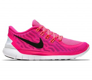 Nike Free 5.0 Damen Schwarz Pink Shield