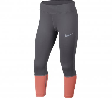 Nike - Power Junior Trainingstight (grau/orange)