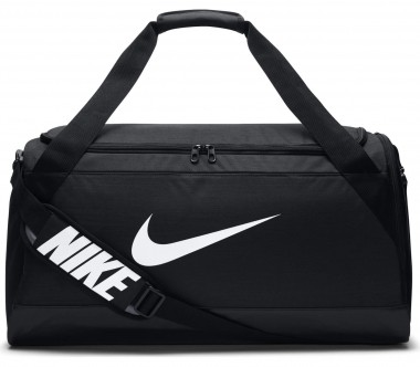 Nike - Brasilia Medium Herren Trainingsduffel (schwarz)