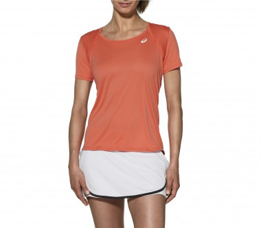 Asics - Club Damen Tennisshirt (orange)