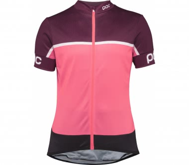 POC - Essential Road Block Damen Bike Trikot (pink/lila)