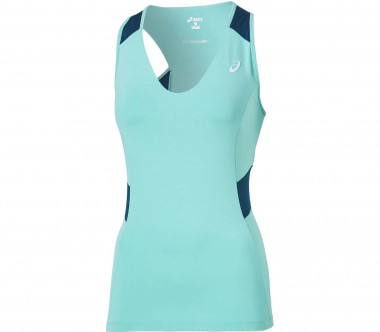 Asics - Athlete Damen Tennistankshirt (helltürkis)