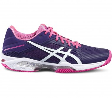 Asics - Gel-Solution Speed 3 Clay Damen Tennisschuh (lila/pink)