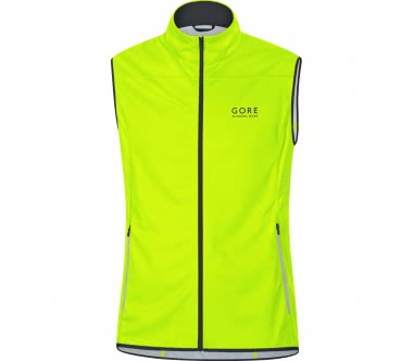 GORE RUNNING WEAR® - Mythos GWS Light Herren Laufweste (gelb)