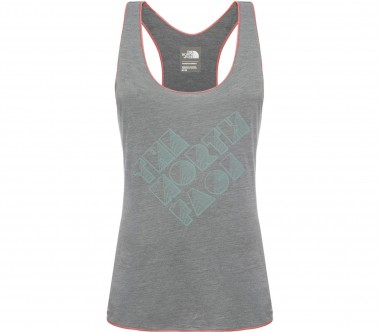 The North Face - Graphic Play Hard Damen Trainingstank (hellgrau)