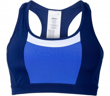 Asics - Color Block Damen Trainingsbra (blau)