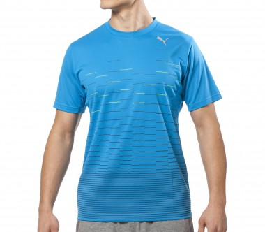 Puma - PT Pure Graphic Training S/S Herren Trainingsshirt (blau)