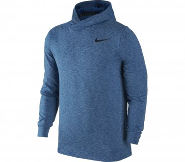 Nike - Breathe Herren Trainingshoodie (blau)