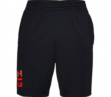 Under Armour - Raid 20 Graphic Herren Trainingsshort (schwarz/rot)