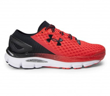 Under Armour - Speedform Gemini 2 Herren Laufschuh (rot/schwarz)