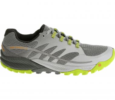 Merrell - All Out Charge Herren Mountain Running Schuh (grau/grün)