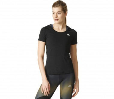 Adidas - Basic Solid Performance Damen Trainingsshirt (schwarz)