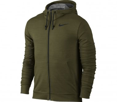 Nike - Dry Full-Zip Herren Trainingshoodie (braun)
