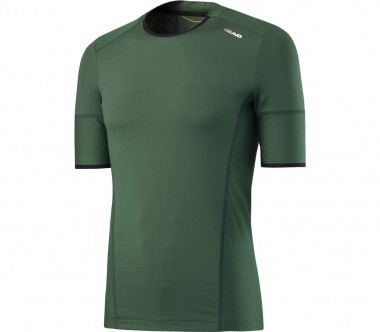 Head - Performance CT Crew Herren Tennisshirt (grün)