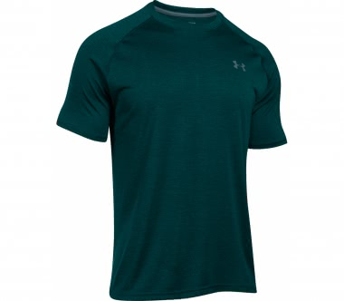 Under Armour - Tech Shortsleeve Herren Trainingsshirt (hellgrün/grau)