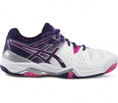 Asics - Gel-Resolution 6 Damen Tennisschuh (weiß/pink)