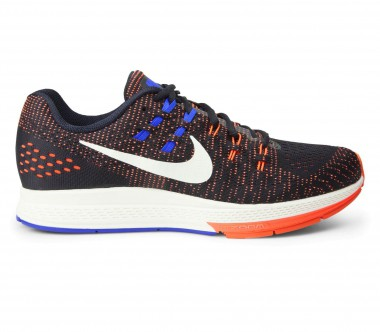 Nike - Air Zoom Structure 19 Herren Laufschuh (schwarz/orange)