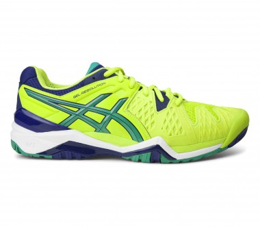 Asics - Gel-Resolution 6 Herren Tennisschuh (hellgrün)