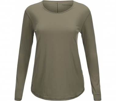 Peak Performance - Epic Damen Longsleeve (khaki)
