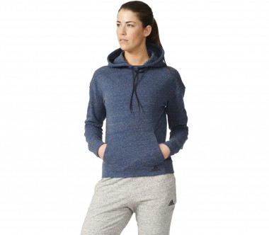 Adidas - Cotton Fleece Damen Trainingshoodie (blau)