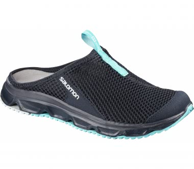 Salomon - RX Slide 3.0 Damen Mountain Lifestyle Sandale (dunkelblau/hellblau)