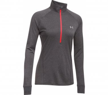 Under Armour - Tech Half-Zip Damen Trainingslongsleeve (grau)
