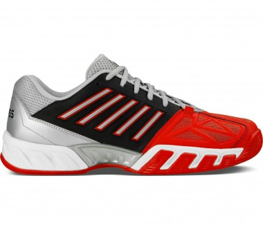 K-Swiss - Big Shot Light 3 Herren Tennisschuh (rot/schwarz)