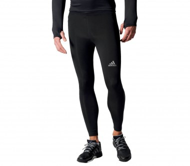 Adidas - Sequencials Long Tight Herren Laufhose (schwarz)