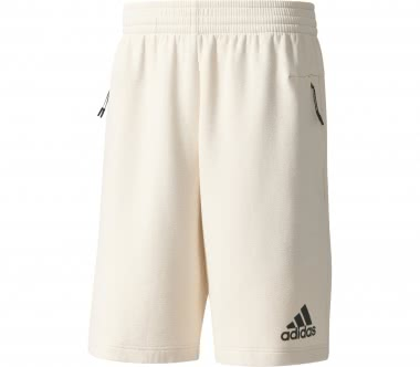Adidas - Z.N.E. Knitted ND Herren Trainingsshort (weiß)