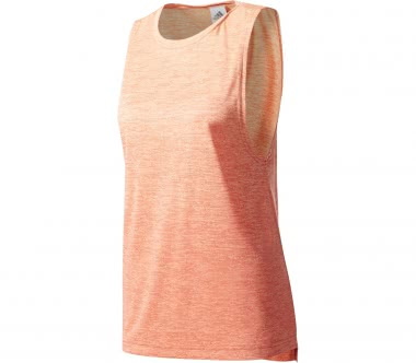 Adidas - Box Melange Damen Trainingstank (orange)