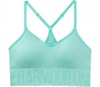 Under Armour - Seamless Ombre Novelty Damen Trainingsbra (blau)