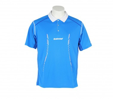 Babolat - Match Performance Herren Tennispolo (blau)