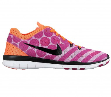 Nike - Free 5.0 Trainer Fit 5 PRT Damen Trainingsschuh (rosa/orange)